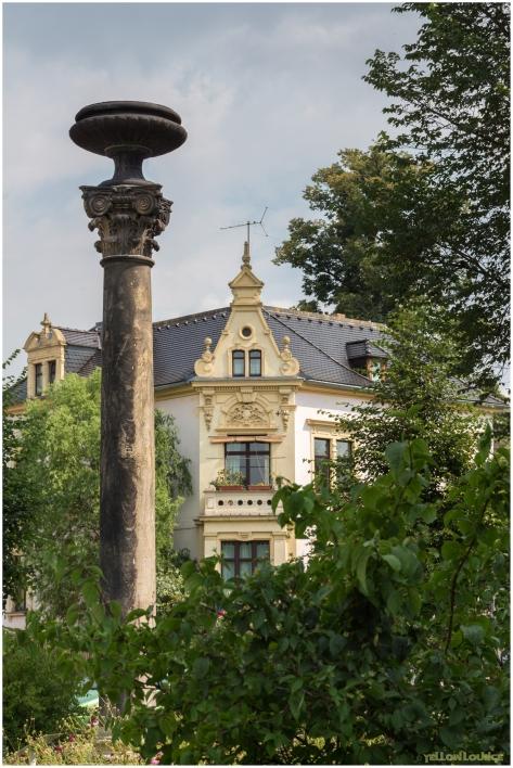 Korinthische Brunnensäule am Stadtbad II
