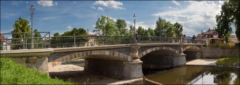 Blick zur König-Albert-Brücke