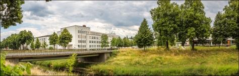 MandauBrücke Hochwald-/Schliebenstrasse | Ehemalige Robur-Schule | Hochschule | Mensa