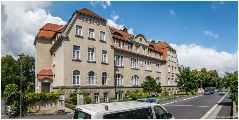 Komturstrasse - ehemaliges Krankenhausgebäude, heut Wohnheim