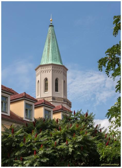 Glockenturm der Johanniskirche