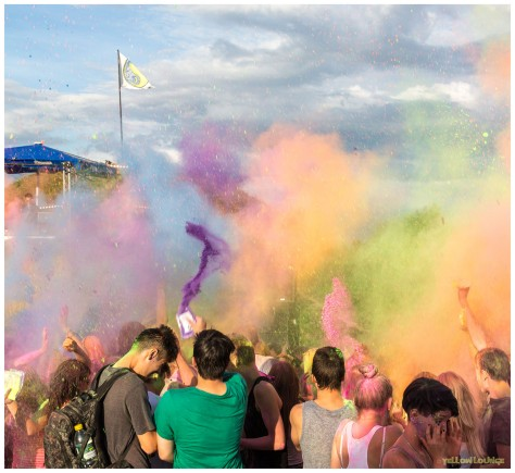 Holi-Farben @ O-See DAY & NIGHT OPEN AIR