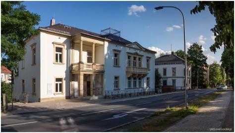 Karl-Liebknecht-Ring | Blick von Fleischerbastei in Richtung Parkschule