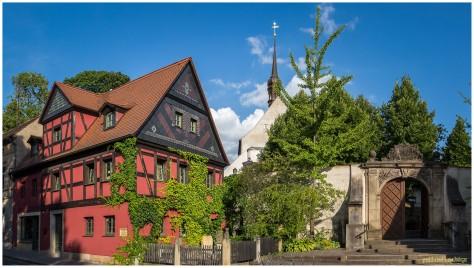 Hammerschmiedtstraße | Steinmetz Friebolin´s Fachwerkhaus | Tor zum Frauenfriedhof | Frauenkirche