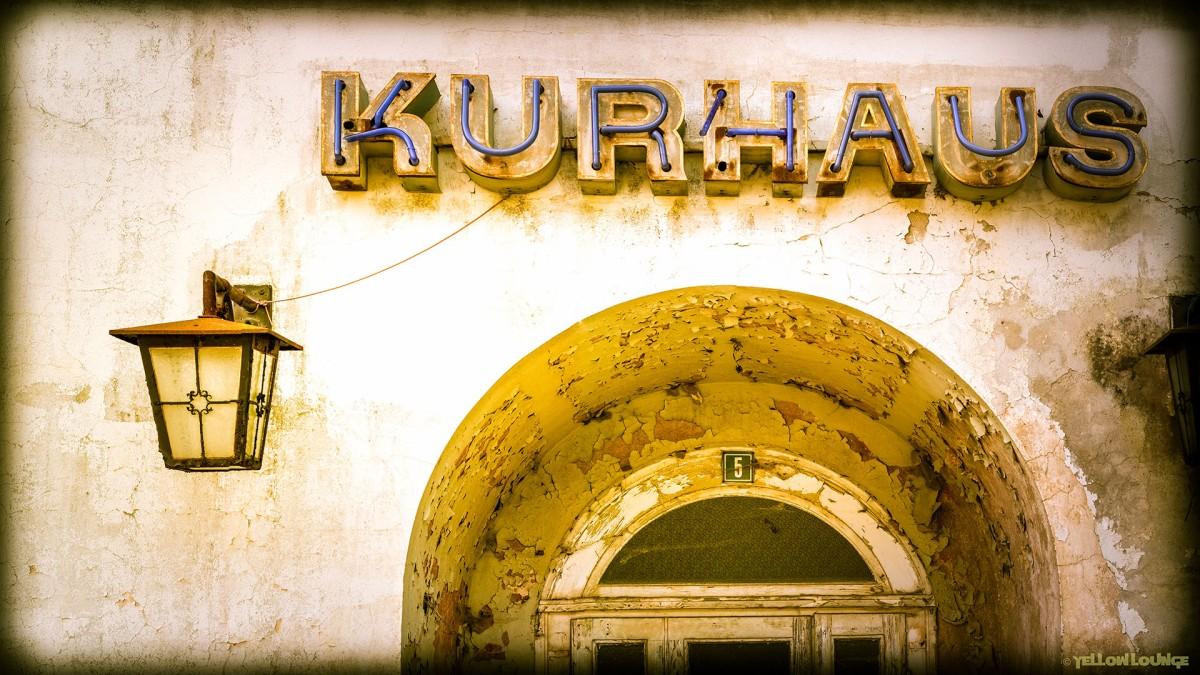 """""""Kurhaus"""" Lückendorf : Details + SchneeRaupe"""