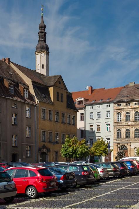 Blick in die Obere Neustadt | Turm der Klosterkirche