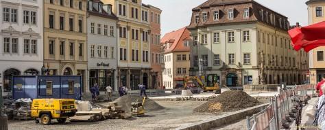 Baustelle Marktplatz (18.09.´14) I