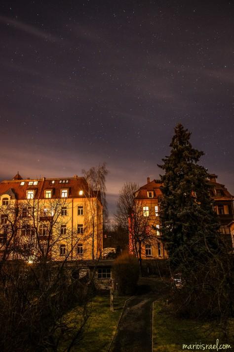 Nacht über´m Komtur-Straßen-Kiez