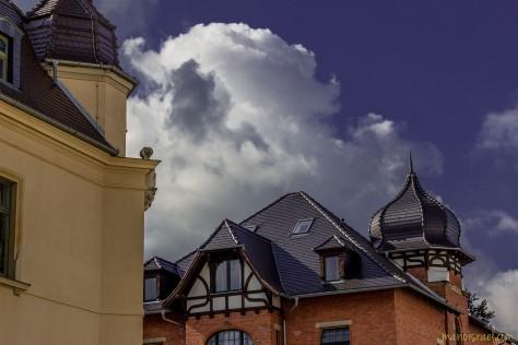 Sooo tief das Blau - Himmel über Korselt-Straße
