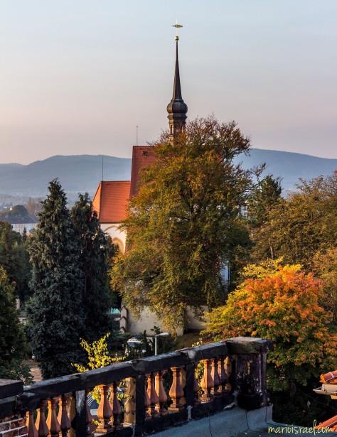 Herbst an der Frauenkirche Zittau