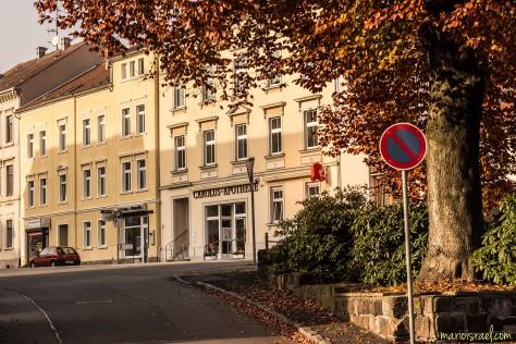 Blick aus der Hammerschmiedt-Straße