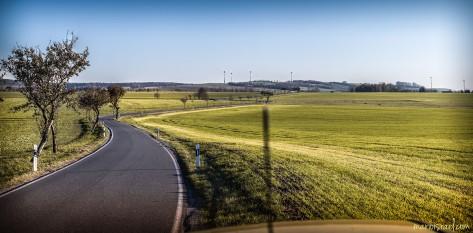 Straße von Mittelherwigsdorf nach Oberseifersdorf