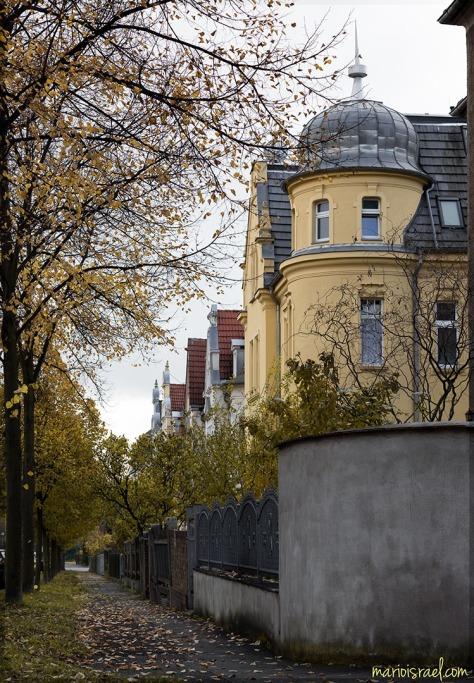 Blick in die Beethoven-Straße