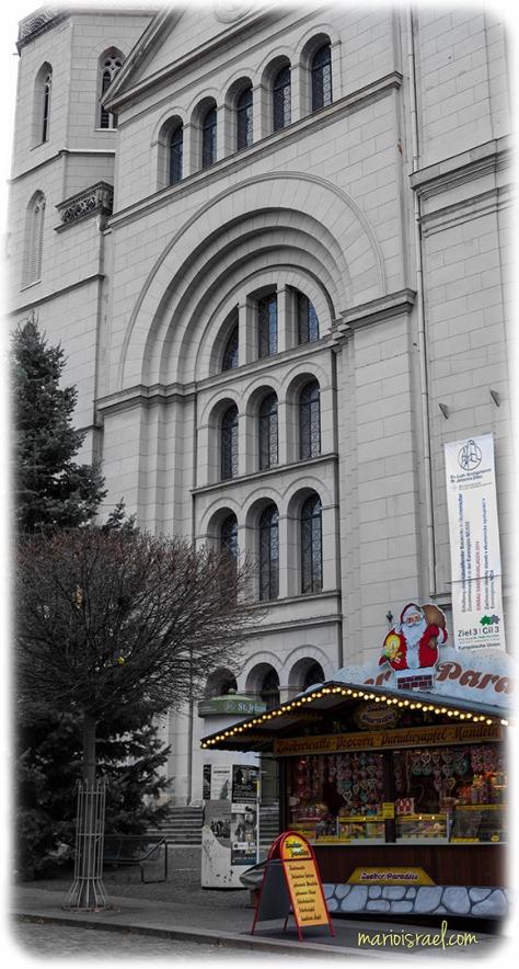 Süßes an der Johanniskirche