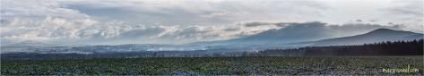 Blick nach Hartau, Sieniawka, Iser-Gebirge