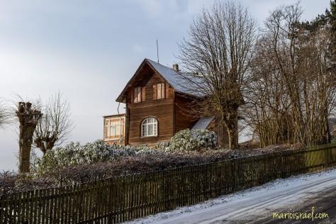 Straße Richtung Hochwald / Oybin