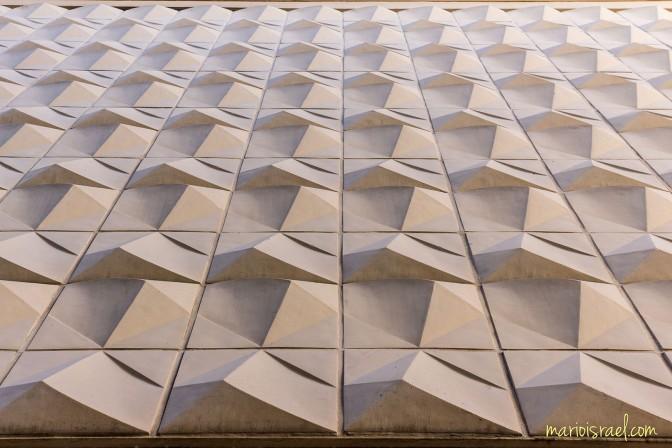 Abstrakte Fassade