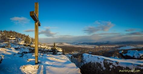 Auf dem Töpfer - das Gipfelkreuz