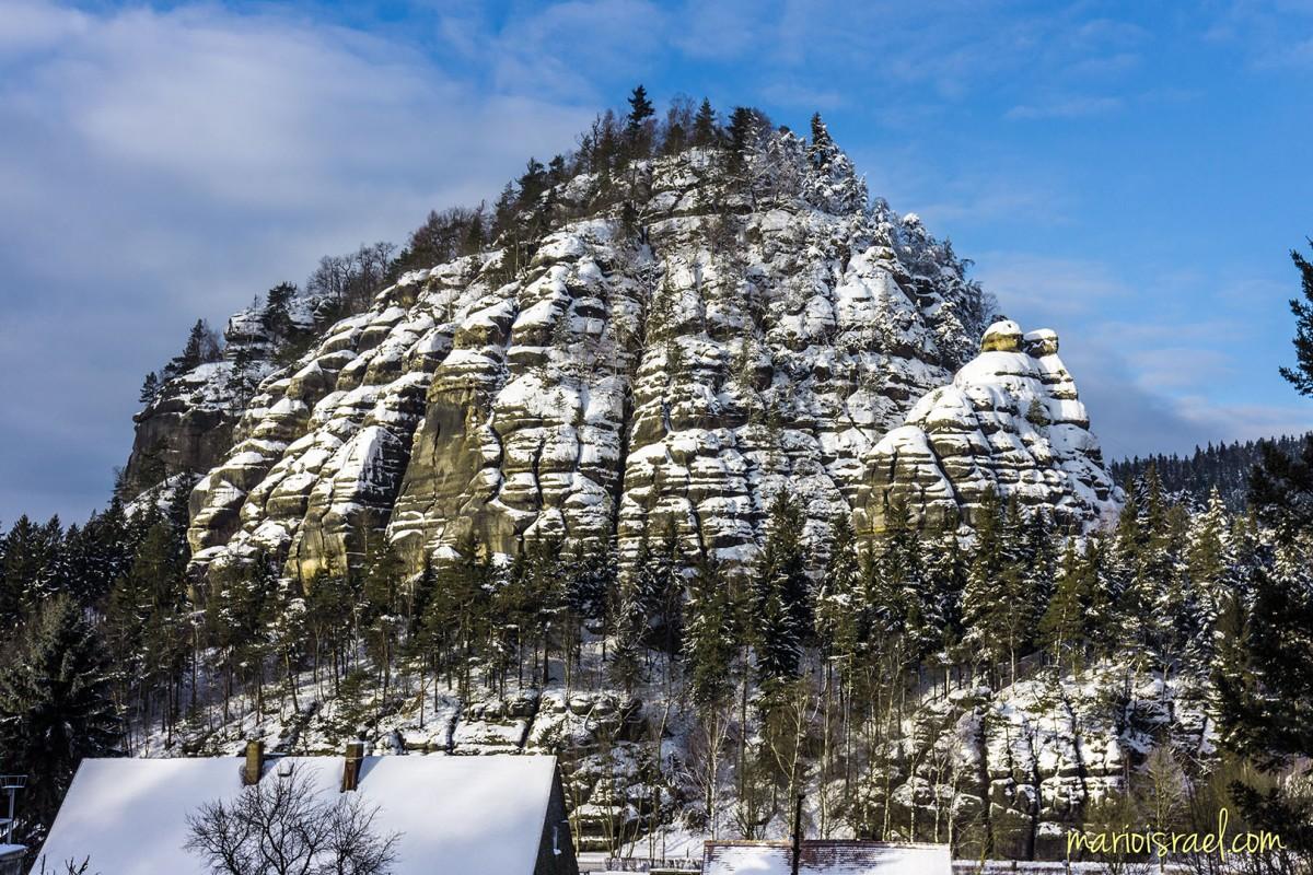 Berg Oybin - WinterPortrait
