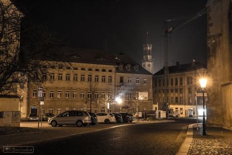 Stille auf dem Klosterplatz Zittau